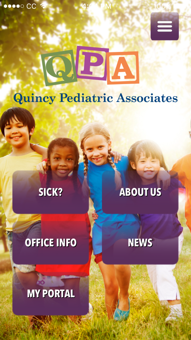 Quincy Pediatrics Mobile App